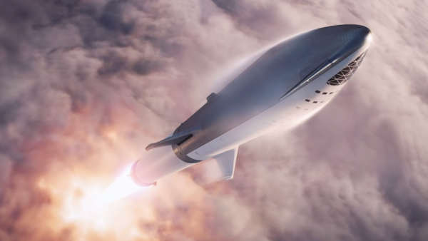 Aerospace company SpaceX will focus on accelerating the development of its interplanetary transportation system, the BFR (renamed Starship). (Image: Screenshot / YouTube)