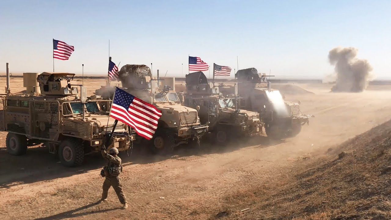 U.S troops will take 60 to 100 days to complete the withdrawal from Syria. (Image: Military Archive)
