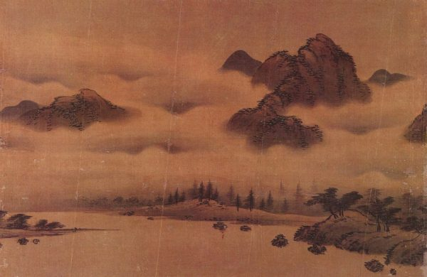 An early Joseon landscape painting by Seo Munbo in the late 15th century. (Image: wikimedia / CC0 1.0)