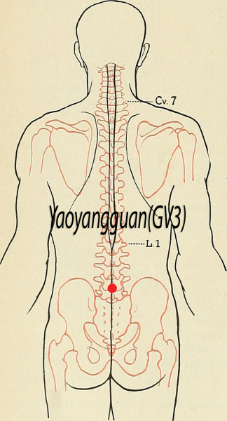 Yaoyangguan GV4, Acupuncture Point (Image Credit: Flickr, Public Domain /Hermann Rohr/Vision Times)