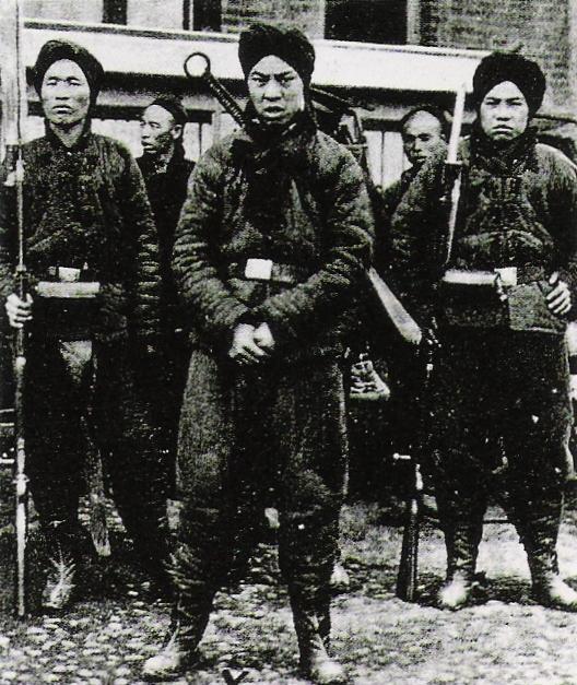 Boxer rebels, 1900 photograph. (Image Credit: Public Domain, Link)