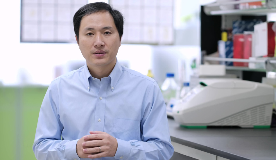 He Jiankui, the Chinese scientist who shocked the world in November last year by revealing that he had gene edited two babies, is currently under house arrest. (Image: The He Lab via wikimedia CC BY 3.0)