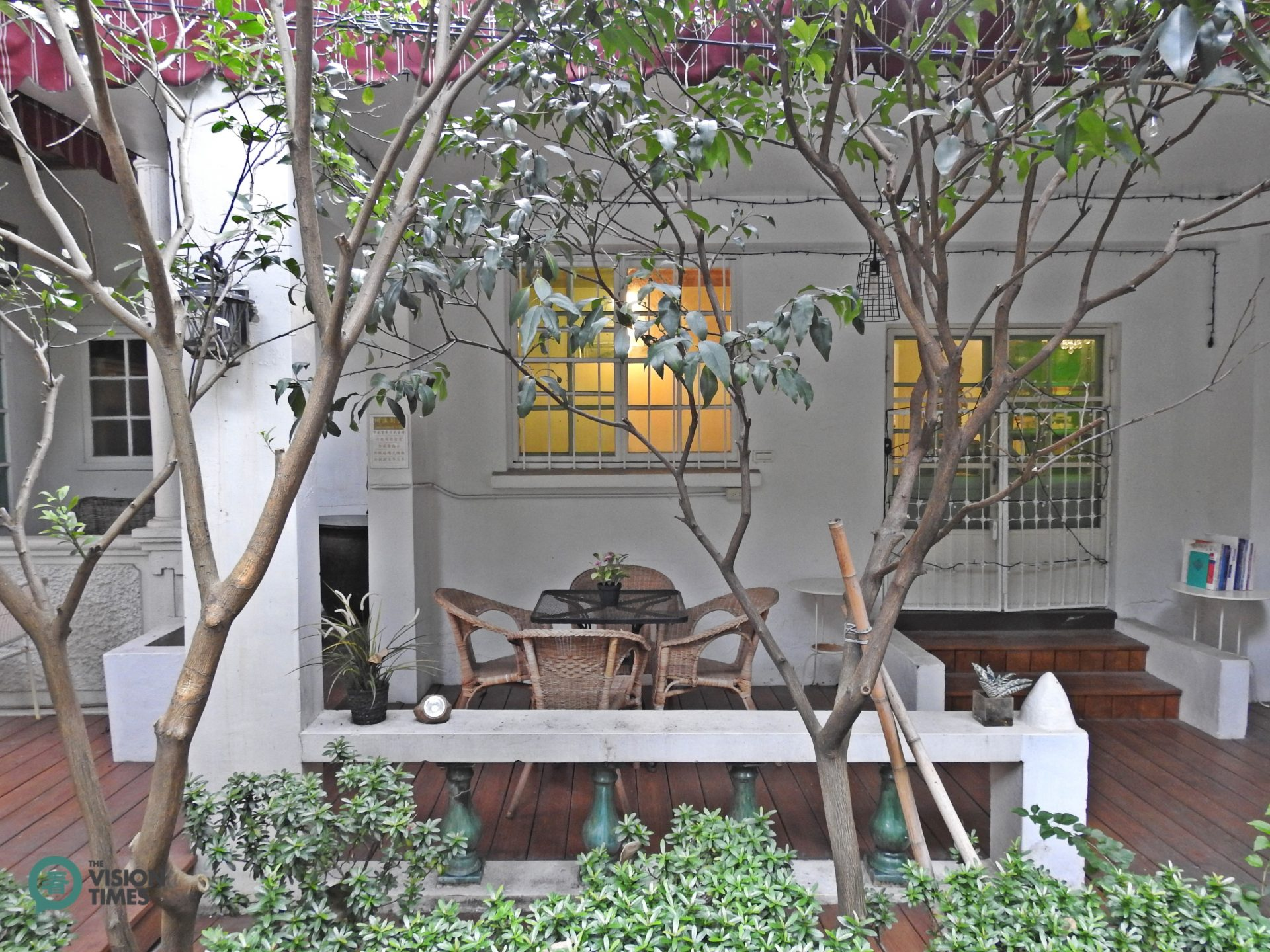 The Japan style house where the artist was born and his atelier was located. (Image: Billy Shyu / Vision Times)