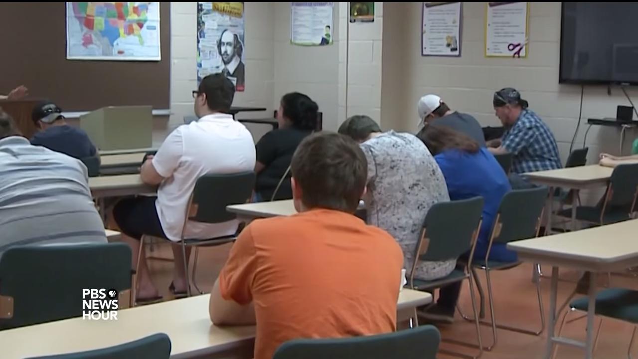 Job training and community college put coal miners on a new path 3-45 screenshot