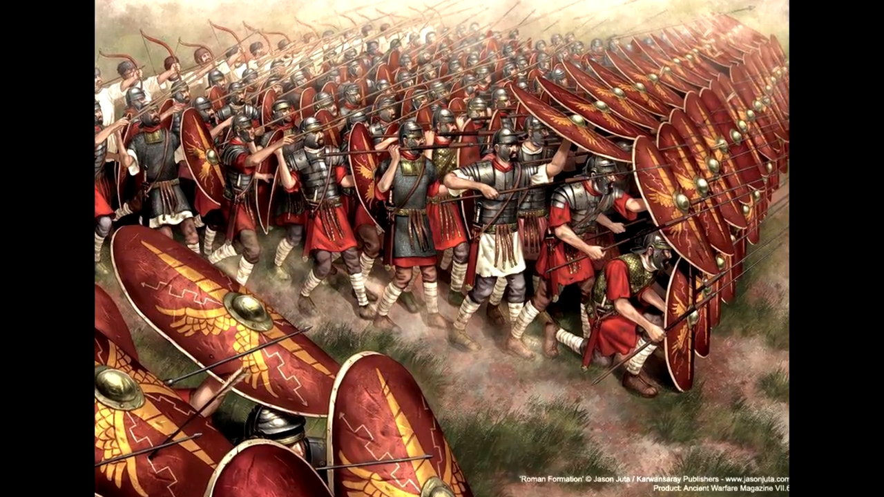 Roman Testudo - Formations, March Chants, Patrols And Castra 6-1 screenshot