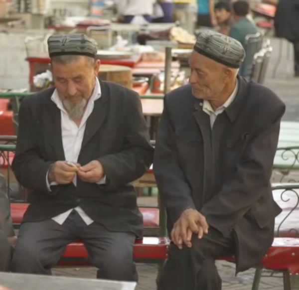 Muslims are barred from growing a beard or wearing a hijab. (Image: YouTube/Screenshot)