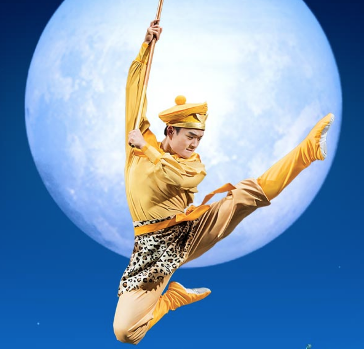 Huang Jingzhou as the Monkey King. (Image: Shen Yun Performing Arts)