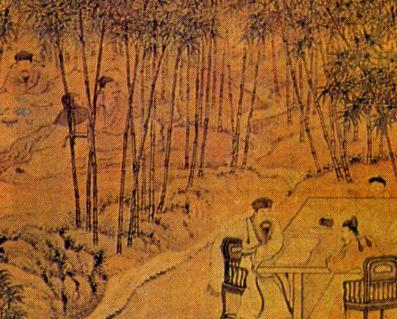The seven worthies of the bamboo grove. (Cao Wei-Jin dynasties). (Image: wikimedia / CC0 1.0)