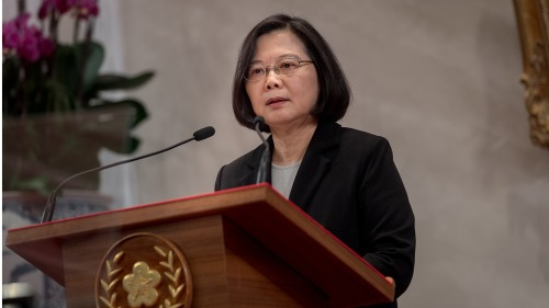 In July of this year, President Tsai Ing-wen of the Republic of China (Taiwan) had a short stopover in New York. (Image: David Reid via flickr/CC BY-SA 2.0)