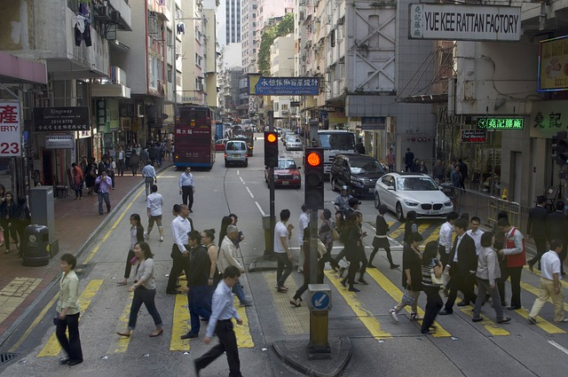 A Hong Kong street scene. (Image: www.maxpixel.net)
