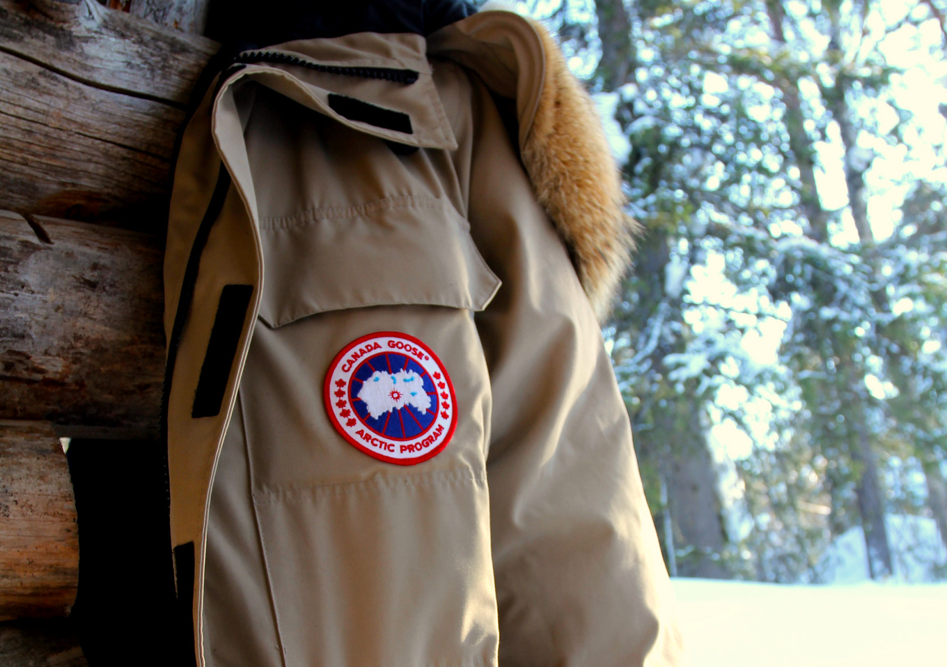 Canada Goose Parker. (Image: Flickr, CC by 2.0)