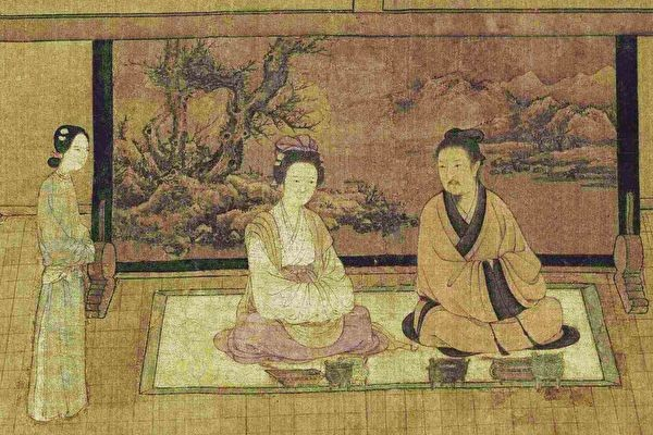 Lamei was very beautiful, and Tianbao had lustful thoughts towards her and wanted to seduce her. (Image: Public Domain)
