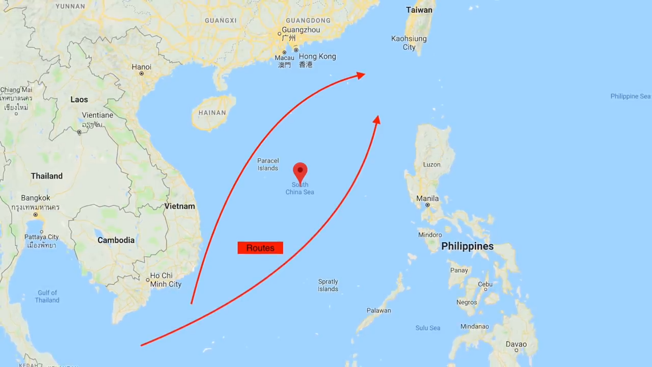 CHINESE ACTIVITIES IN SOUTH CHINA SEA COULD START A MAJOR CONFLICT 4-1 screenshot