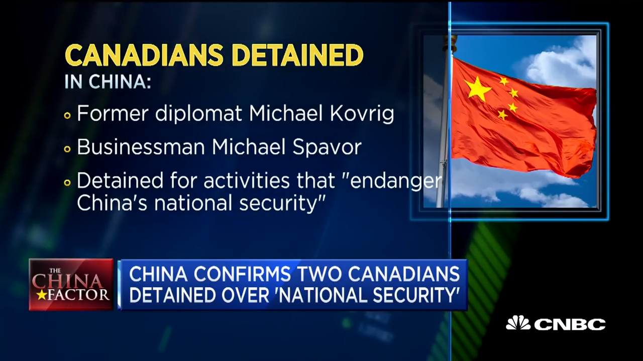 China confirms two Canadians detained over 'national security' 0-14 screenshot