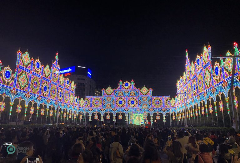 """The 2019 Taipei Luminarie is to emit an essence of """"hope"""" and """"brighter future"""" for the New Year. (Image: Billy Shyu / Nspirement)"""