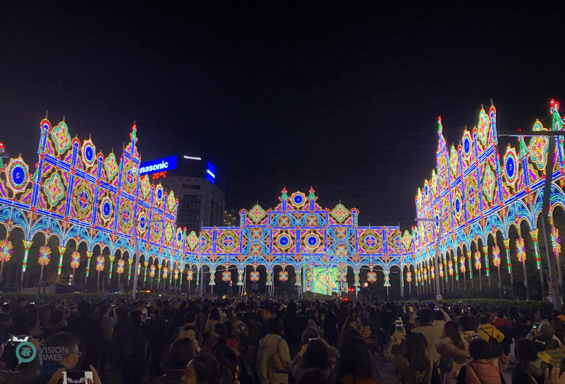 "The 2019 Taipei Luminarie is to emit an essence of ""hope"" and ""brighter future"" for the New Year. (Image: Billy Shyu / Vision Times)"