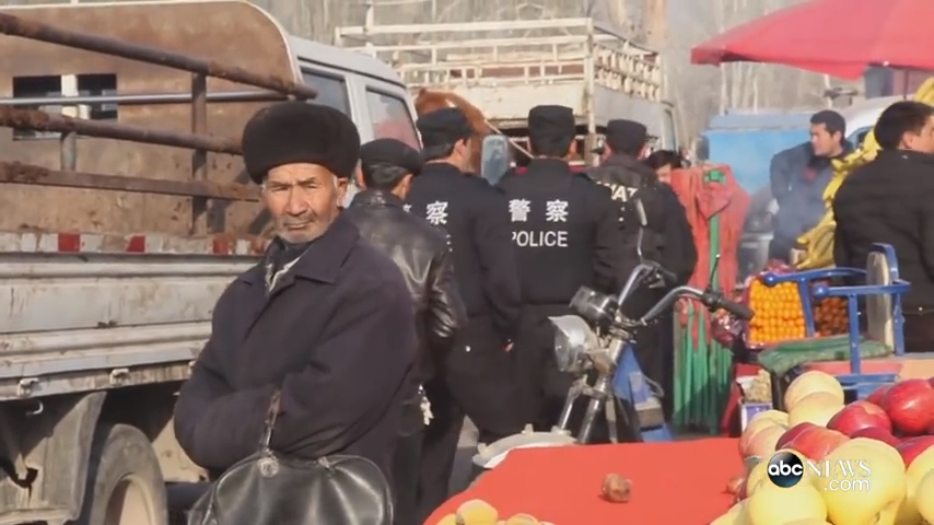 In Xinjiang, the Chinese Communist Party (CCP) continued with its repressive regime, silencing pro-democracy and human rights voices through force and intimidation. (Image: Screenshot / YouTube)