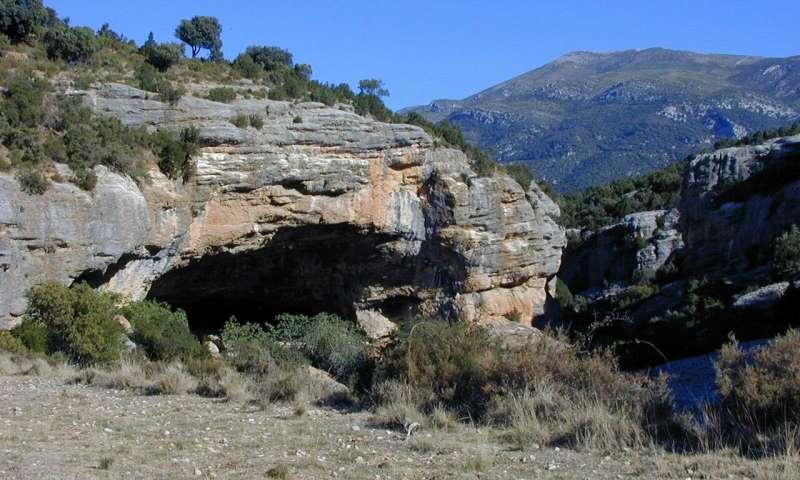 Cueva de Chaves site (Credit: Museo de Huesca)