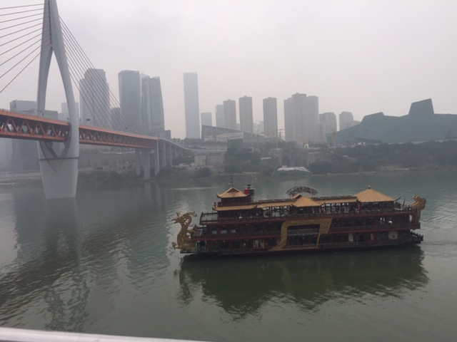 A Yangtze River boat