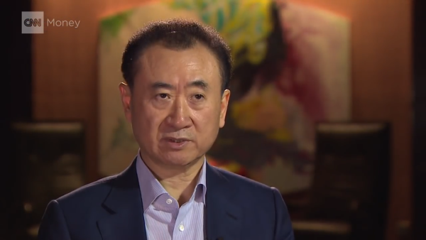Once known as the richest man in China, Wang Jianlin, owner of the Dalian Wanda Group, saw his net worth fall 37 percent. (Image: Screen Shot/ Youtube)