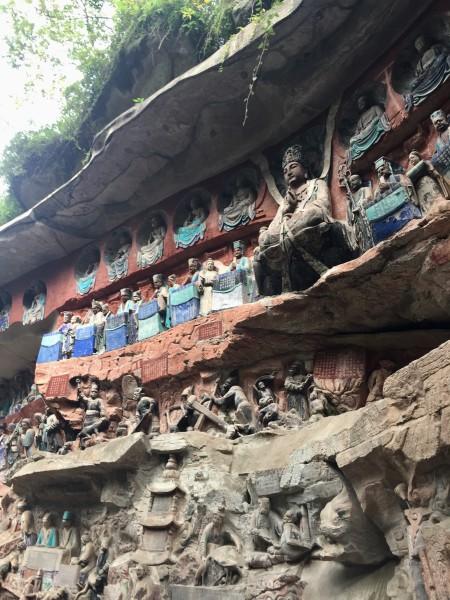 Dazu rock carvings. (Image: S.Ruel/Chongqing)