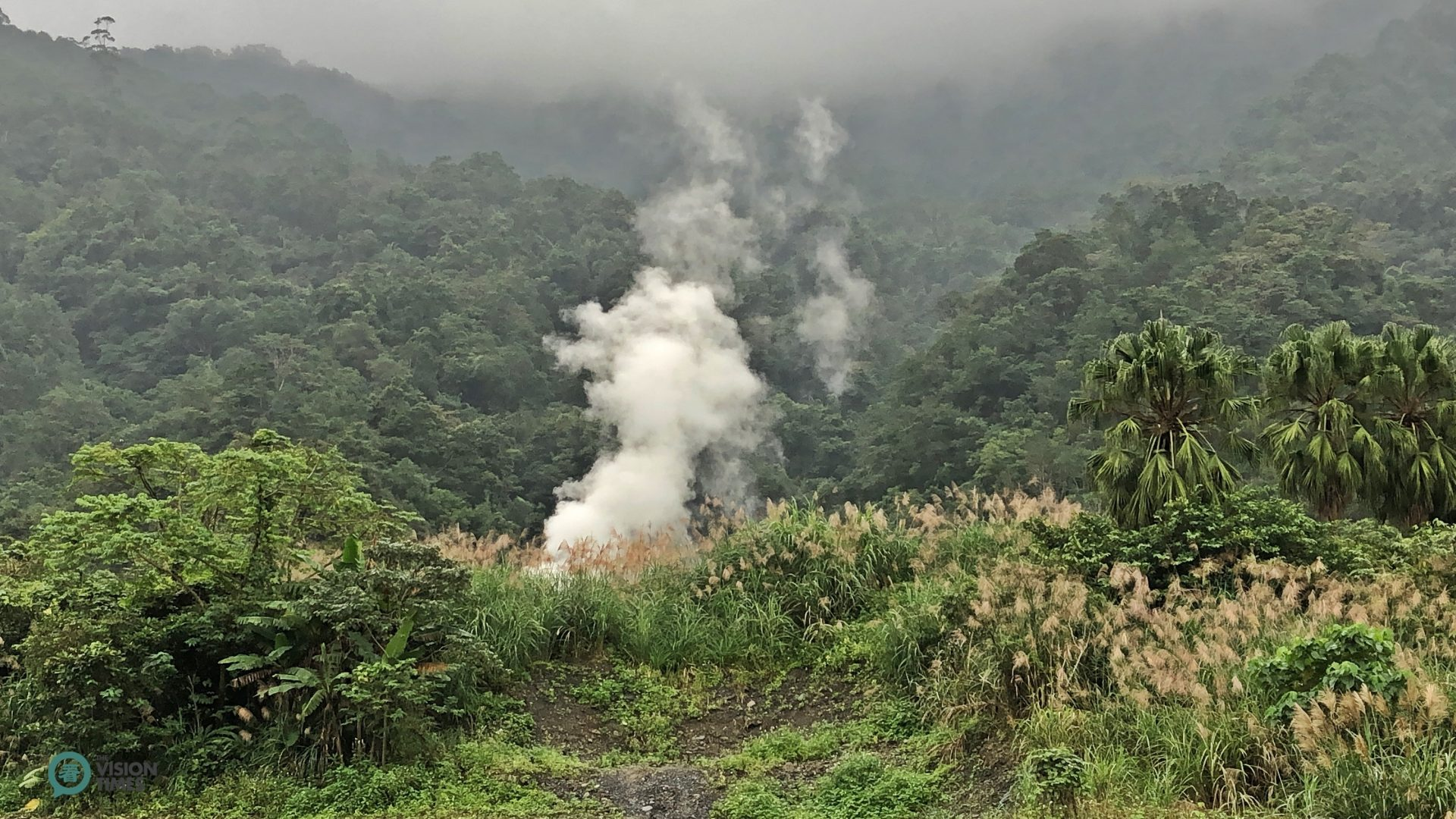The vicinity of Qingshui Geothermal Park is rich in geothermal resources. (Image: Billy Shyu / Vision Times)
