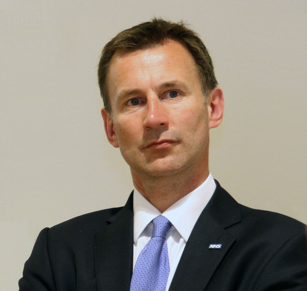 China criticized Jeremy Hunt for demanding that Hong Kong's freedoms be protected. (Image: U.K. Department of Health and Social Care )