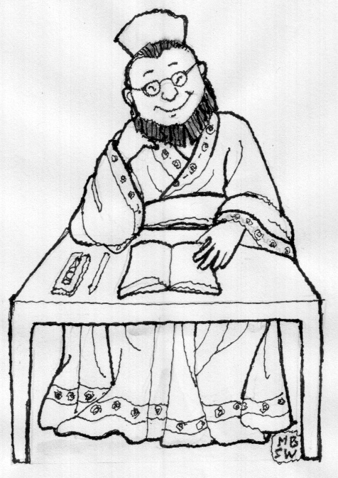 """Good Laughs"" (笑得好) is a collection of short stories edited by Chinese doctor Cheng-Jin Shi (石成金) of the Qing Dynasty (1636-1912). (Image: Bernadette Wolf / Vision Times)"