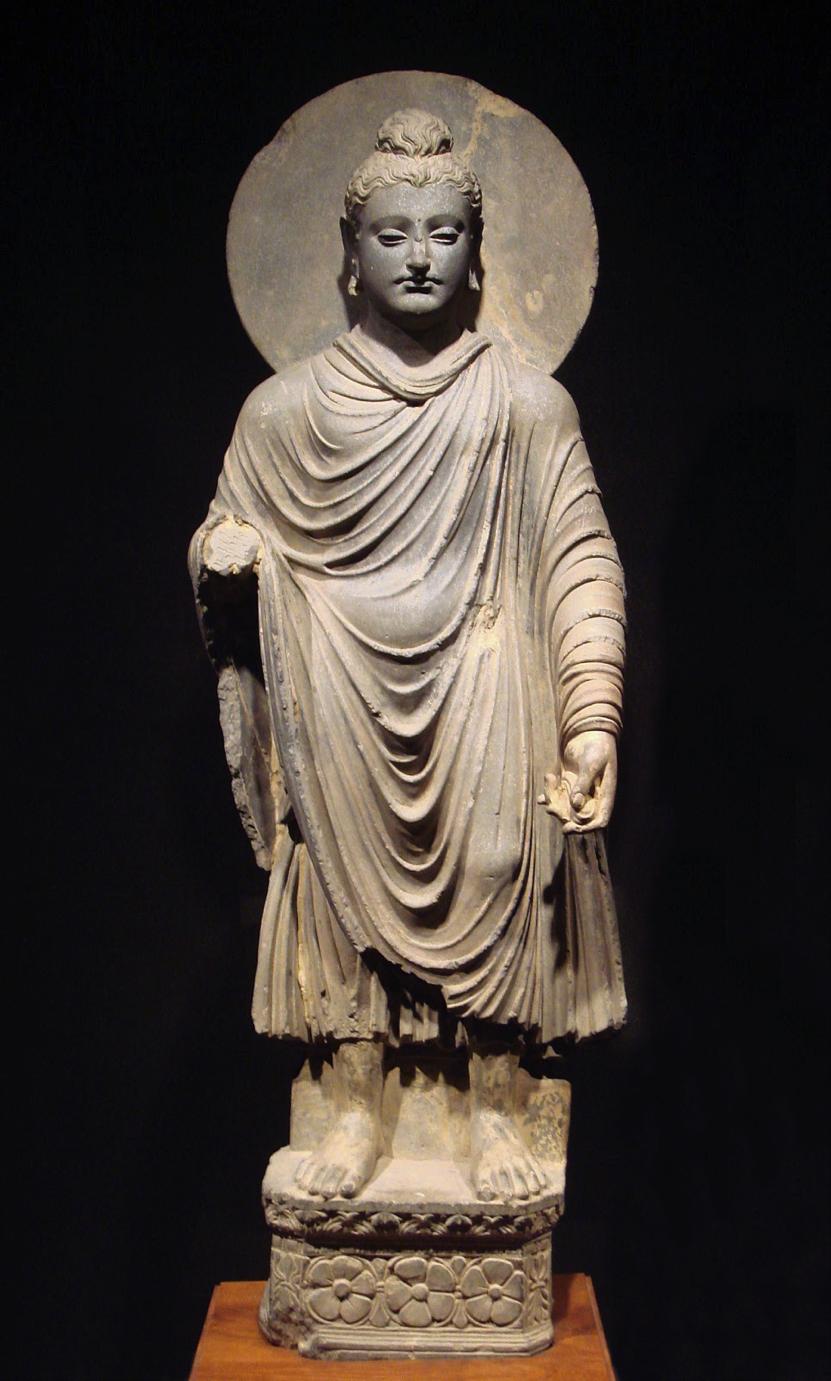 Gandhara Buddha (Image: wikimedia / CC0 1.0)