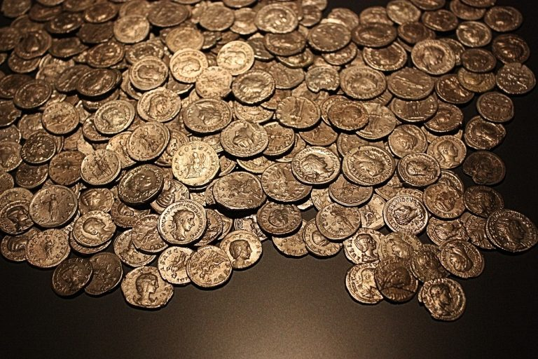 The officers are accused of stealing rare coins. (Image via pixabay / CC0 1.0)