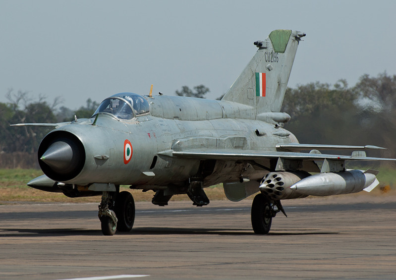 As per data from the Ministry of Defence, more than 490 Mig-21 planes have been lost in crashes since 1963, with 171 pilots losing their lives in the process. (Image: wikimedia / CC0 1.0)