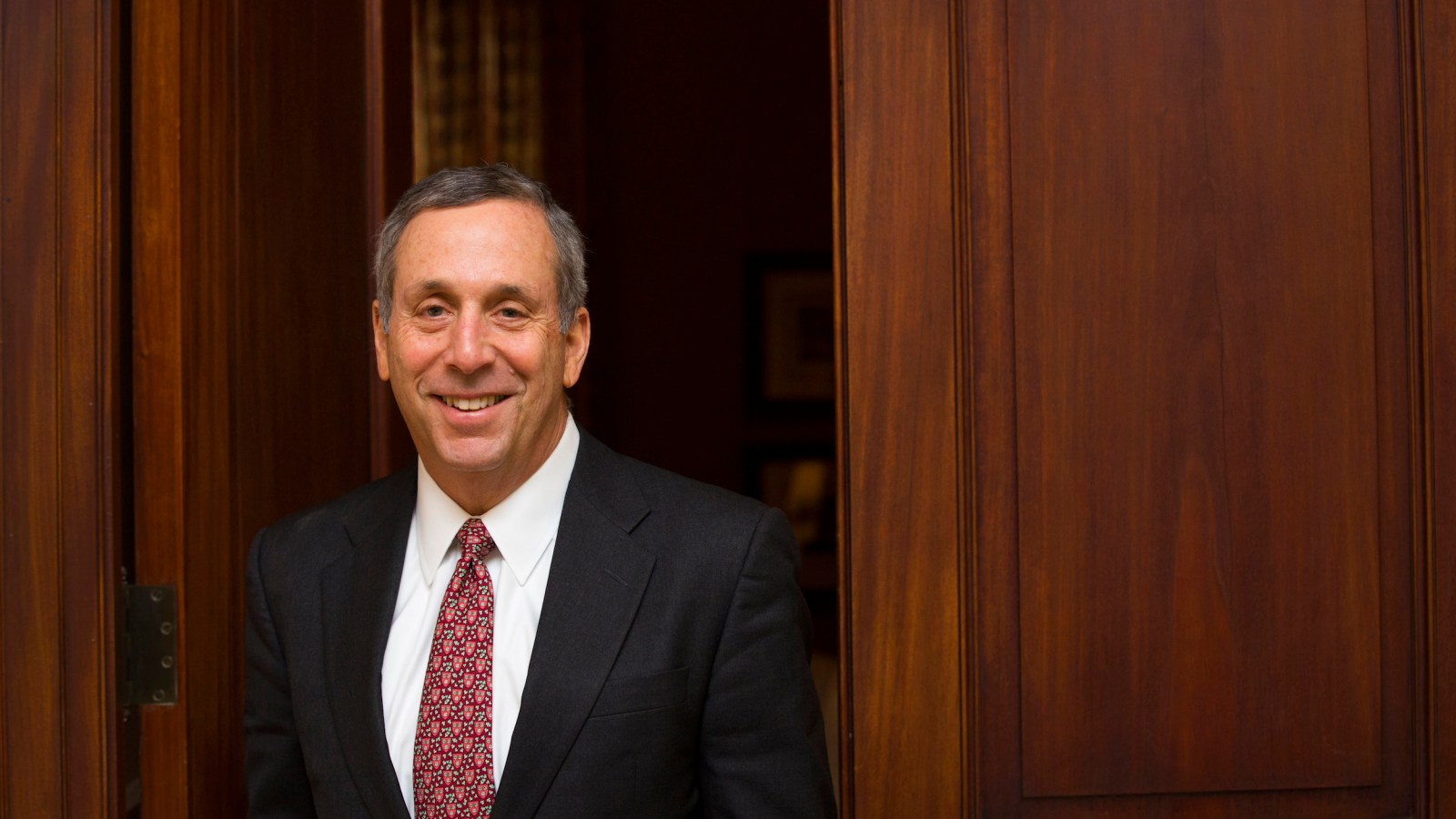 The importance of freedom in academic institutions was also highlighted by the president of Harvard, Lawrence S Bacow, during his recent week-long trip to Asia. (Image: Image Courtesy Harvard University)