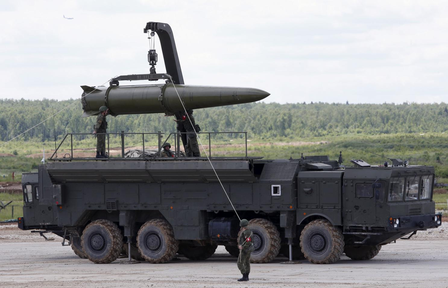 U.S. intelligence agencies found that Russia's Novator 9M729 is a cruise missile with a range that exceeds 500 km, effectively violating the INF treaty. (Image: nationalinterest.org)