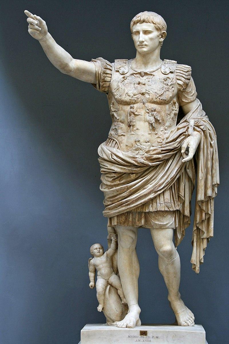 Emperor Augustus (Image: wikimedia / CC0 1.0)