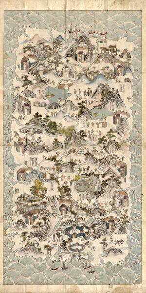 A 19th-century map of Hainan Island. (Image: wikimedia / CC0 1.0)