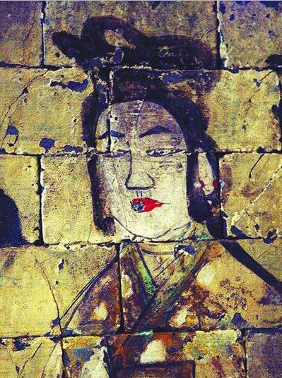 During the Han dynasty (206 BCE to 220 CE), women used to tie hair in loose buns with some untied hair hanging around their backs. (Image: wikimedia / CC0 1.0)