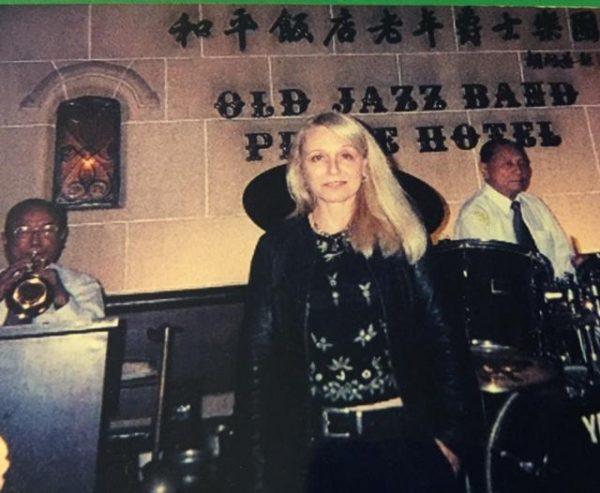 Susan Ruel in Shanghai. Author.