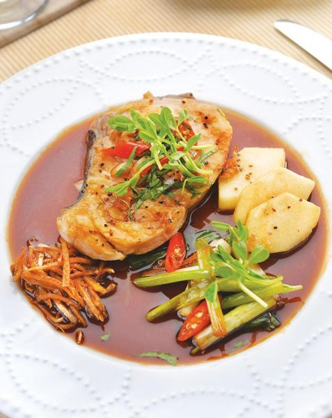 Braised Ginger Marlin (Image: Hsuyi Shih/Taste of Life)