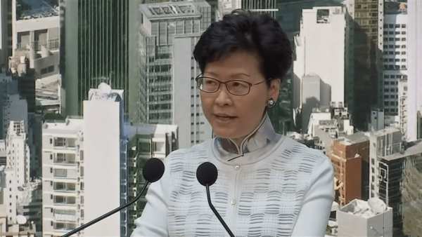 The people of Hong Kong fear that Carrie Lam's administration might try to sneak the extradition bill through in the future when the public has calmed down. (Image: Screenshot / YouTube)