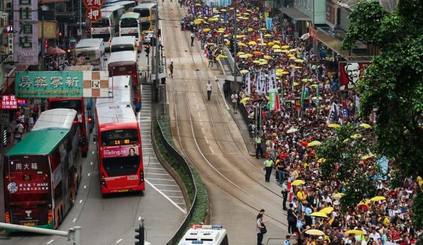 Over a million Hongkongers protested against the government's proposed extradition amendment bill. (Image: Wpcpey via wikimedia CC BY 3.0)
