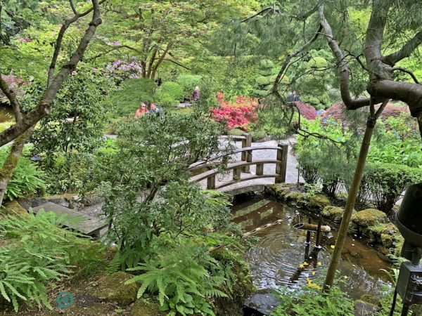 The Japanese Garden in the Butchart Gardens. (Image: Billy Shyu / Vision Times)