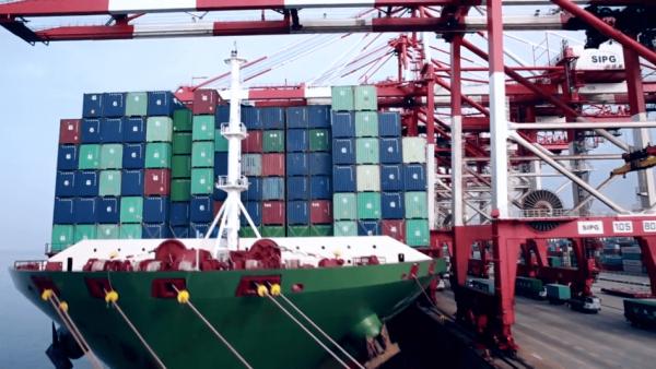 The coronavirus lockdown has disturbed supply chains. (Image: Screen Shot/ Youtube)