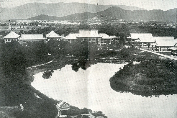 The Yanjing University campus in the 1930s. (Image: Public Domain)