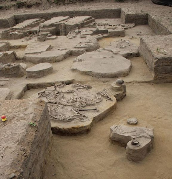 "The archaeological site ""El Olivar"", Coquimbo Region, Chile. (Image: Paola González Carvajal)"