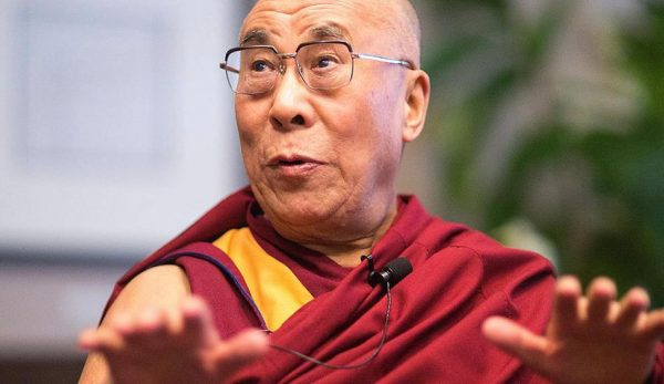 A file image of the Dalai Lama. (Image: Christopher Michel via wikimedia CC BY 2.0 )
