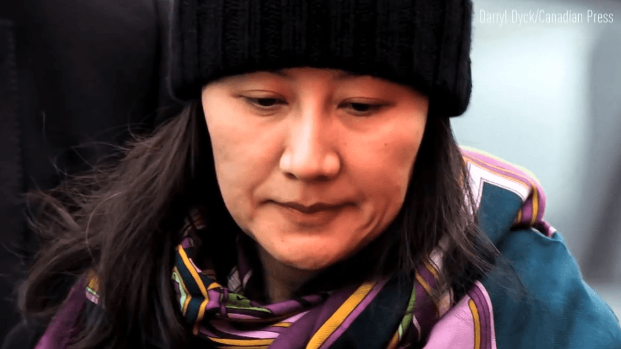 Huawei CFO Meng Wanzhou was charged by the U.S. for violating trade sanctions against Iran. (Image: Screenshot / YouTube)