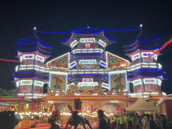 The Main Salvation Altar in the Zhongzheng Park. (Image: Billy Shyu / Vision Times)