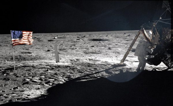 Astronaut Neil Armstrong on the Moon. (Image:: NASA)