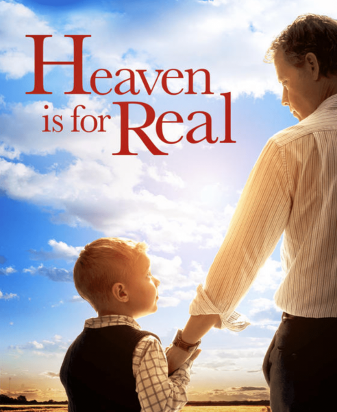 Colton went to Heaven then went back to Earth, would his father believe him? (Image: Sony Picturers)