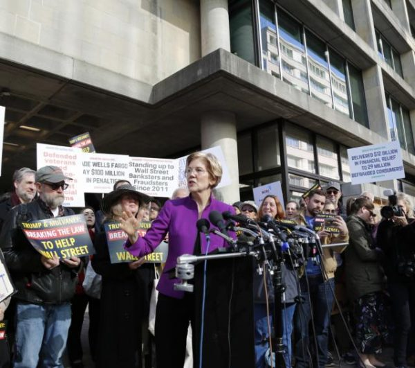 Elizabeth Warren has also introduced a plan to forgive student debt. (Image: elizabthwarren.com / CC0 1.0)